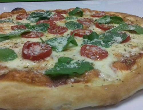 Пица со шери домати
